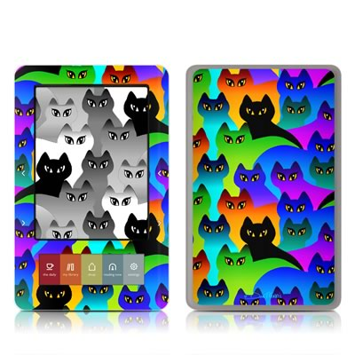 Nook Skin - Rainbow Cats