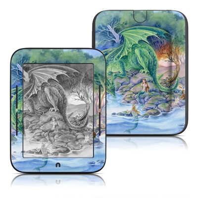 Barnes and Noble Nook Touch Skin - Of Air And Sea