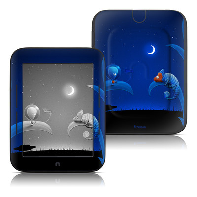 Barnes and Noble Nook Touch Skin - Alien and Chameleon