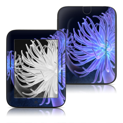 Barnes and Noble Nook Touch Skin - Anemones