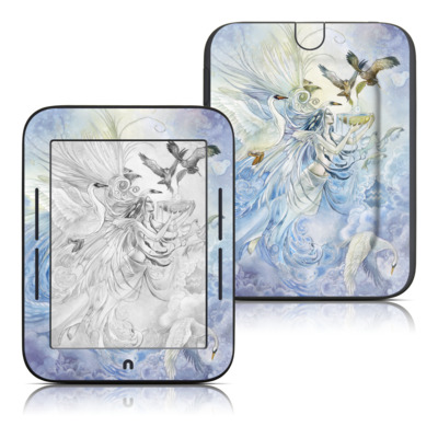 Barnes and Noble Nook Touch Skin - Aquarius