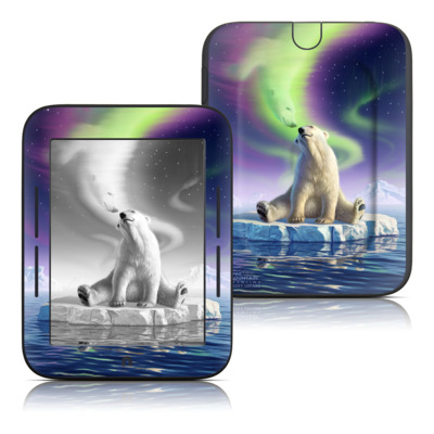 Barnes and Noble Nook Touch Skin - Arctic Kiss
