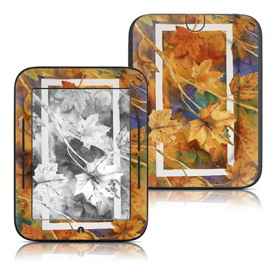 Barnes and Noble Nook Touch Skin - Autumn Days