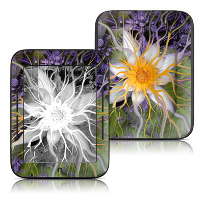 Barnes and Noble Nook Touch Skin - Bali Dream Flower