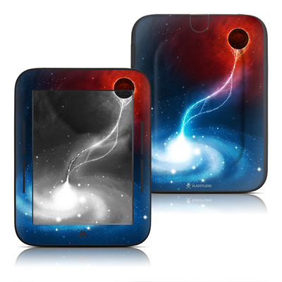 Barnes and Noble Nook Touch Skin - Black Hole