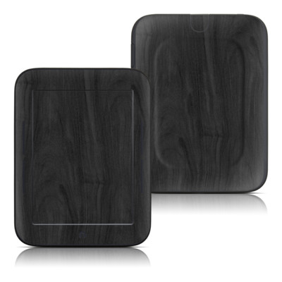 Barnes and Noble Nook Touch Skin - Black Woodgrain