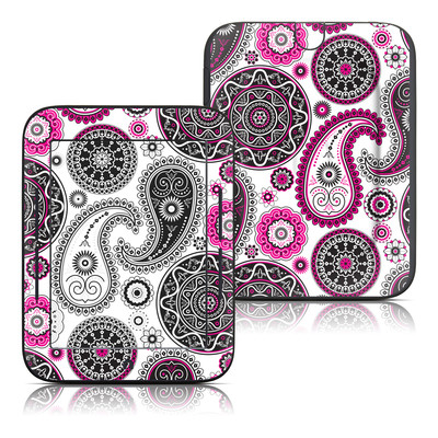 Barnes and Noble Nook Touch Skin - Boho Girl Paisley