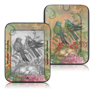 Barnes and Noble Nook Touch Skin - Splendid Botanical