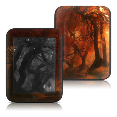 Barnes and Noble Nook Touch Skin - Canopy Creek Autumn