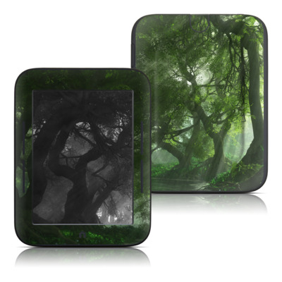 Barnes and Noble Nook Touch Skin - Canopy Creek Spring