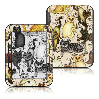 Barnes and Noble Nook Touch Skin - Cats