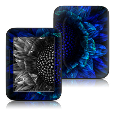 Barnes and Noble Nook Touch Skin - Cobalt Daisy