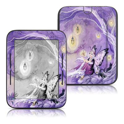 Barnes and Noble Nook Touch Skin - Chasing Butterflies