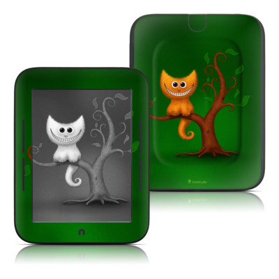 Barnes and Noble Nook Touch Skin - Cheshire Kitten