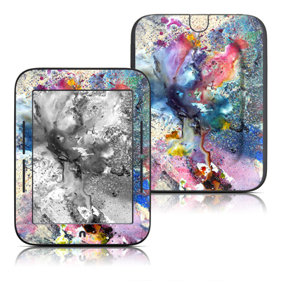 Barnes and Noble Nook Touch Skin - Cosmic Flower