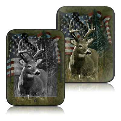 Barnes and Noble Nook Touch Skin - Deer Flag