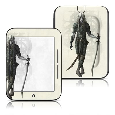 Barnes and Noble Nook Touch Skin - Dark Elf