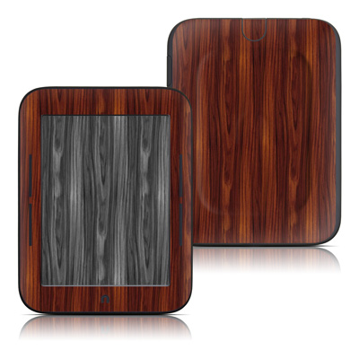 Barnes and Noble Nook Touch Skin - Dark Rosewood