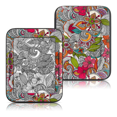 Barnes and Noble Nook Touch Skin - Doodles Color