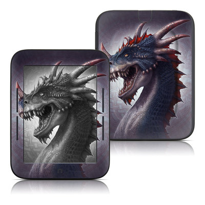 Barnes and Noble Nook Touch Skin - Dracosaurus Rex