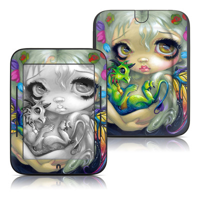 Barnes and Noble Nook Touch Skin - Dragonling