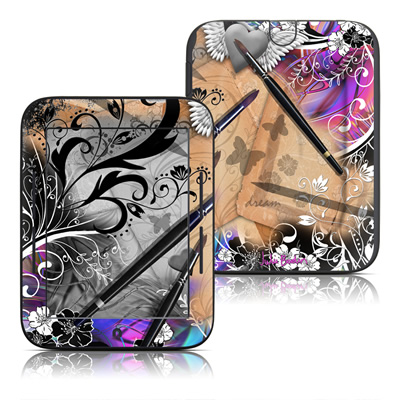 Barnes and Noble Nook Touch Skin - Dream Flowers