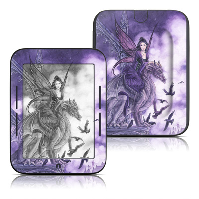 Barnes and Noble Nook Touch Skin - Dragon Sentinel