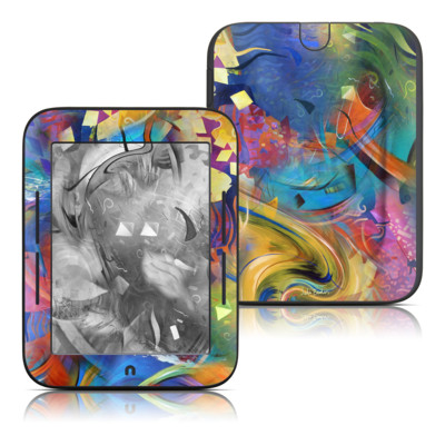 Barnes and Noble Nook Touch Skin - Fascination