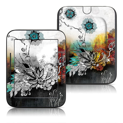 Barnes and Noble Nook Touch Skin - Frozen Dreams