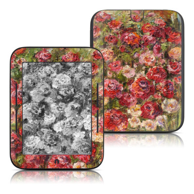 Barnes and Noble Nook Touch Skin - Fleurs Sauvages