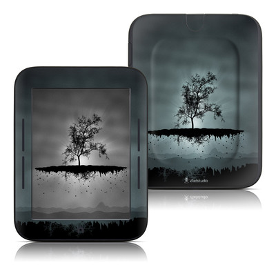 Barnes and Noble Nook Touch Skin - Flying Tree Black