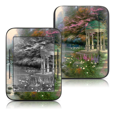 Barnes and Noble Nook Touch Skin - Garden Of Prayer