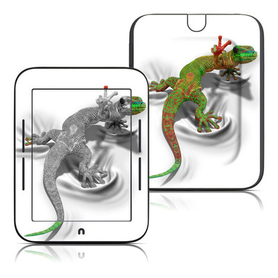 Barnes and Noble Nook Touch Skin - Gecko