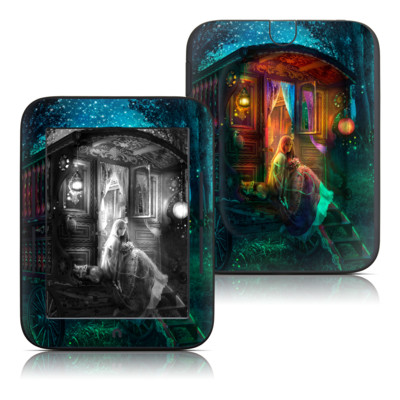 Barnes and Noble Nook Touch Skin - Gypsy Firefly