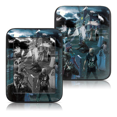 Barnes and Noble Nook Touch Skin - Graveyard