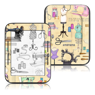 Barnes and Noble Nook Touch Skin - Haberdashery