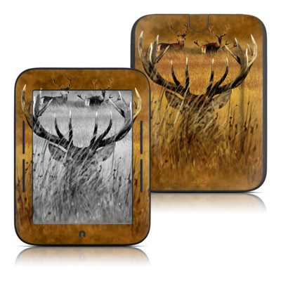 Barnes and Noble Nook Touch Skin - Hiding Buck