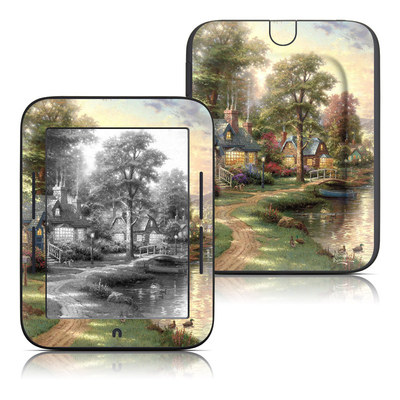 Barnes and Noble Nook Touch Skin - Hometown Lake