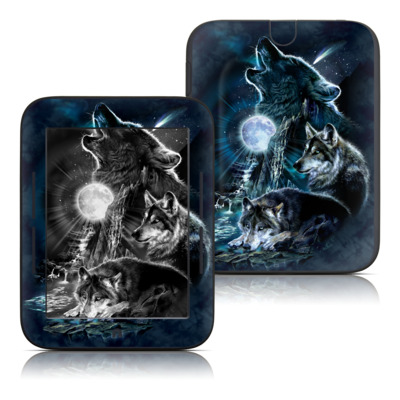 Barnes and Noble Nook Touch Skin - Howling