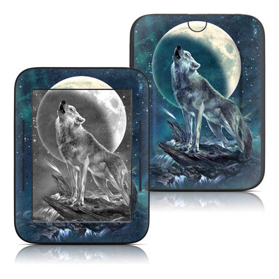 Barnes and Noble Nook Touch Skin - Howling Moon Soloist