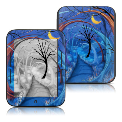 Barnes and Noble Nook Touch Skin - Ichabods Forest