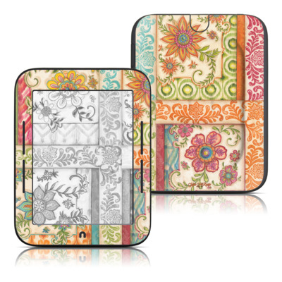 Barnes and Noble Nook Touch Skin - Ikat Floral