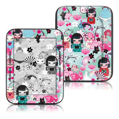 Barnes and Noble Nook Touch Skin - Kimono Cuties