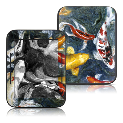 Barnes and Noble Nook Touch Skin - Koi's Happiness