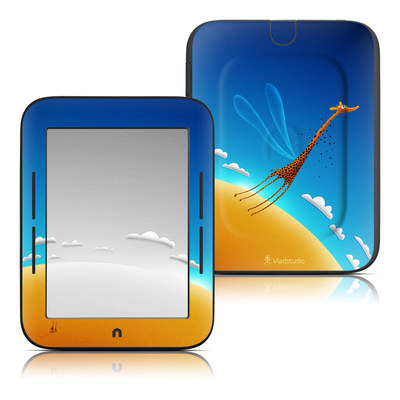 Barnes and Noble Nook Touch Skin - Learn to Fly