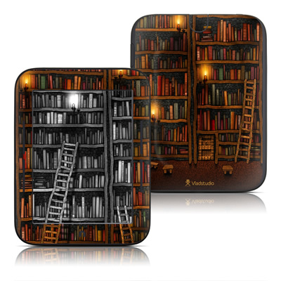 Barnes and Noble Nook Touch Skin - Library