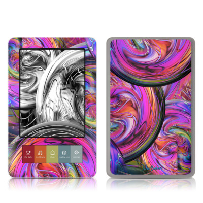 Barnes and Noble Nook Touch Skin - Marbles
