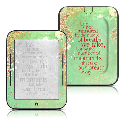 Barnes and Noble Nook Touch Skin - Measured