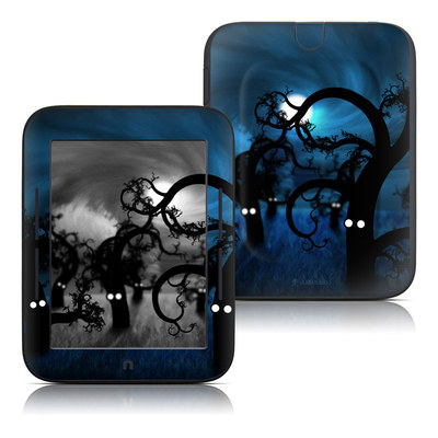 Barnes and Noble Nook Touch Skin - Midnight Forest