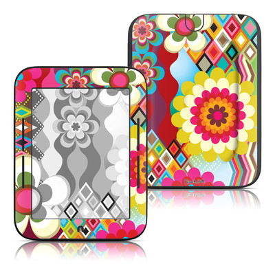 Barnes and Noble Nook Touch Skin - Mosaic